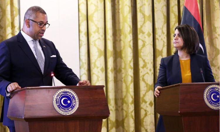 المنقوش تدعو لعودة عمل السفارة البريطانية في طرابلس وافتتاح قنصلية في بنغازي