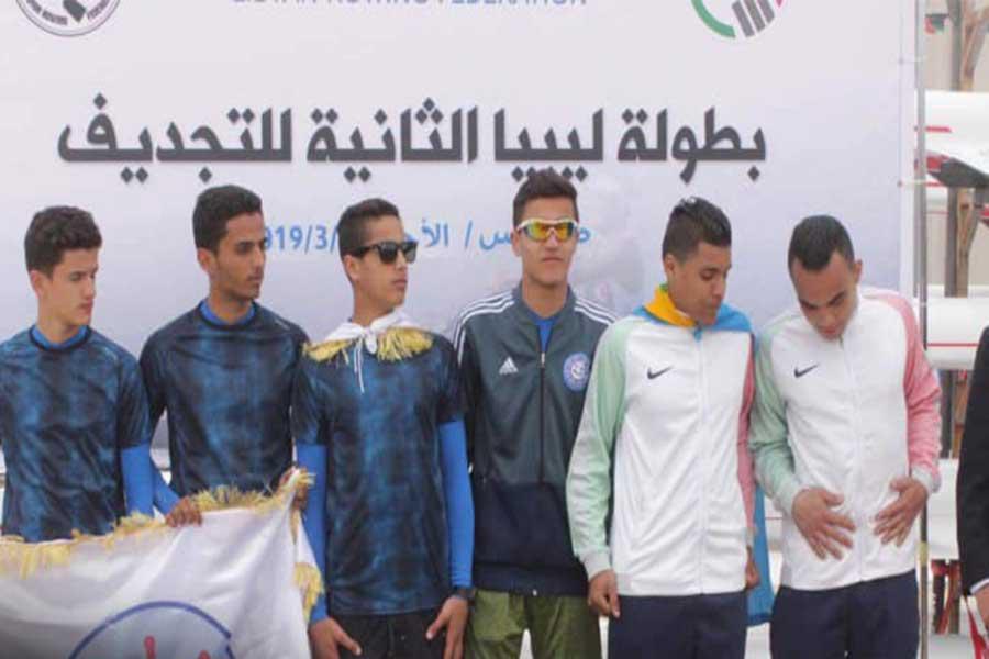 تنظيم البطولة الثانية للتجذيف في ليبيا